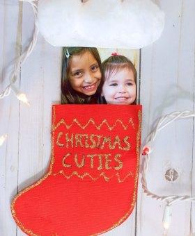 Christmas Stocking Pop-Up Card