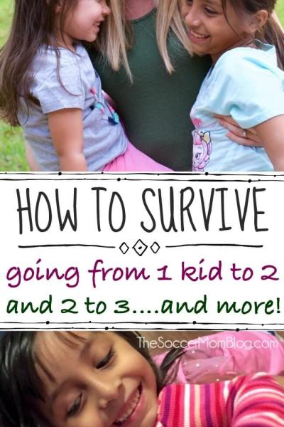 Surviving Transitions — Going from One Child to Two (or more!)