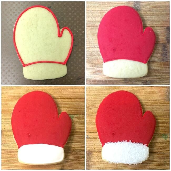 How to make mitten cookies