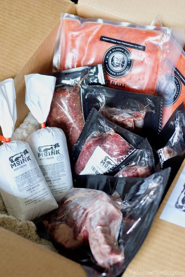 Moink grass fed meat delivery
