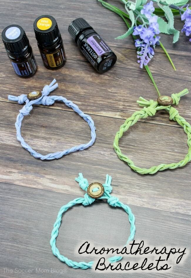 Carry your favorite scents everywhere with these gorgeous braided leather essential oil diffuser bracelets! Easy step-by-step photo tutorial inside.