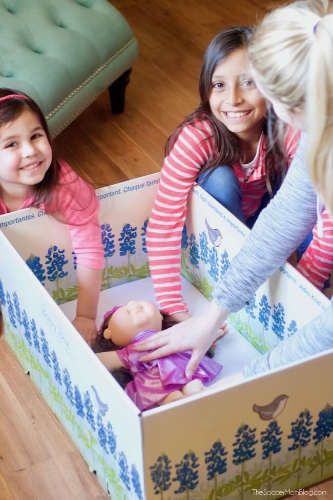 How to get a free baby box and how it can help your baby sleep safely.