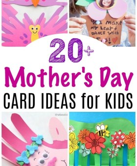 20+ Mother's Day Card Ideas for Kids