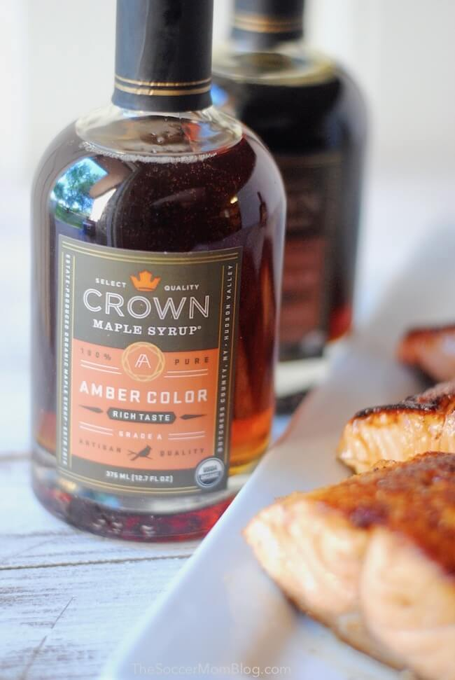 Crown Maple Amber Color Organic Maple Syrup