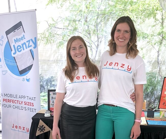 Jenzy co-founders Eve Ackerley and Carolyn Horner