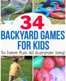 34 Outdoor Games for Kids to Keep 'Em Busy All Summer Long