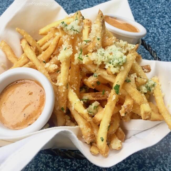 Cafe Orleans Pommes Frites - one of the best things to eat at Disneyland