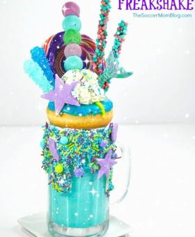 """Ariel"" Mermaid Freakshake"