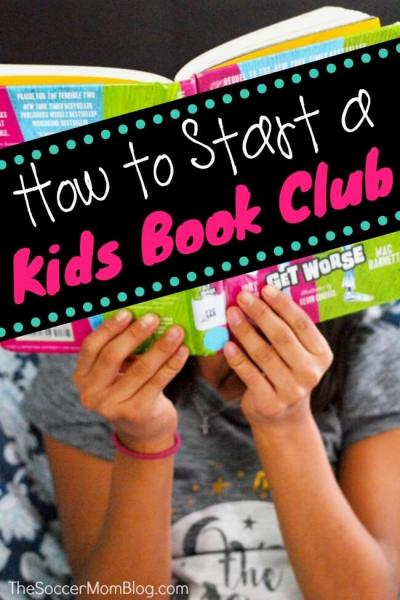 How to Start a Kids Book Club
