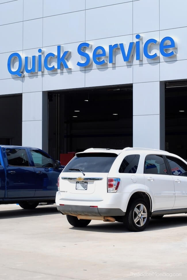Quick Service Center at Robbins Chevy in Humble TX