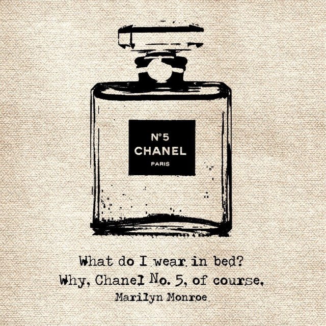 Marilyn Munroe Chanel No.5