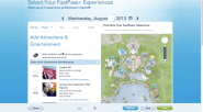 Reserving FastPass+ attractions at MyDisneyExperience.com