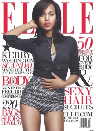 Elle Magazine- Kerry Washington post