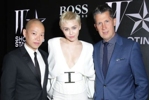 Jason Wu, Miley Cyrus, Stefano Tonchi