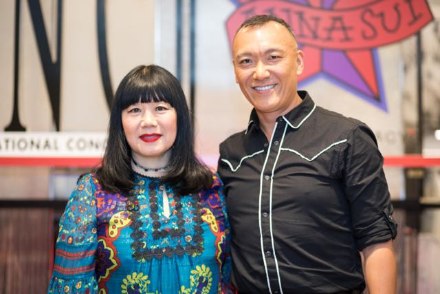 Macy's Celebrated The Launch Of Anna Sui x INC Inter At Herald Square
