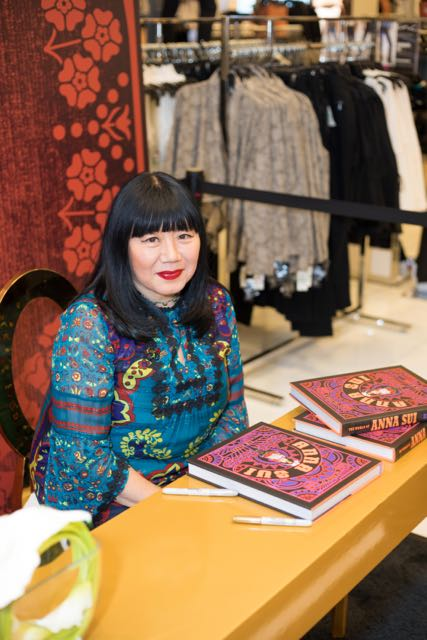 Macys Fetes Anna Sui During New York Fashion Week