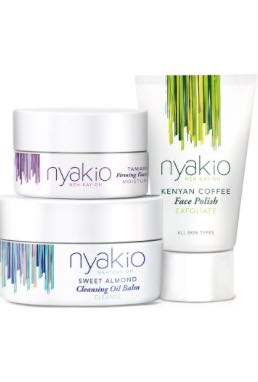 Skincare Line Nyakio Features A Five Regimen Collection Based On Family Recipes