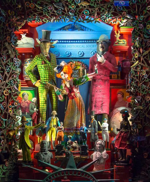 Bergdorf 's Holiday Windows Reveals New York City's Culture