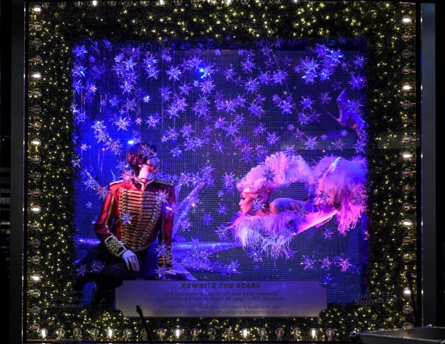 Over 7,600 Swarovski Crystals Sparkle Bloomingdale's Holiday Windows
