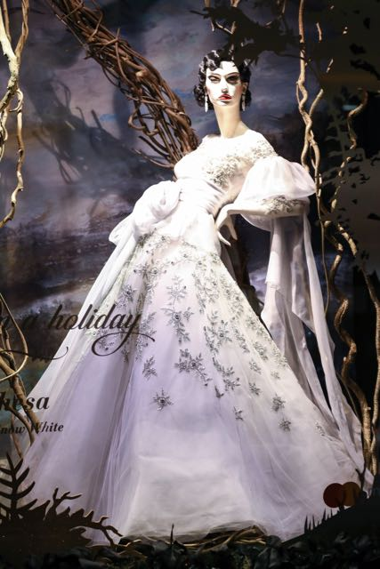 Saks Holiday Windows Re-Creates Scenes From The Fairytale Snow White