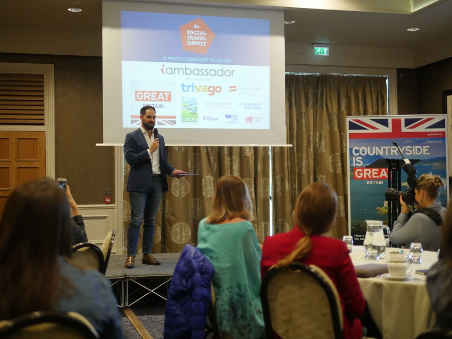 The Opening Speech at STS Inverness by Robin Johnson, Marketing Director of VisitBritain.