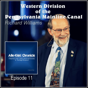 Richard Williams | The Western Division of the Pennsylvania Mainline Canal