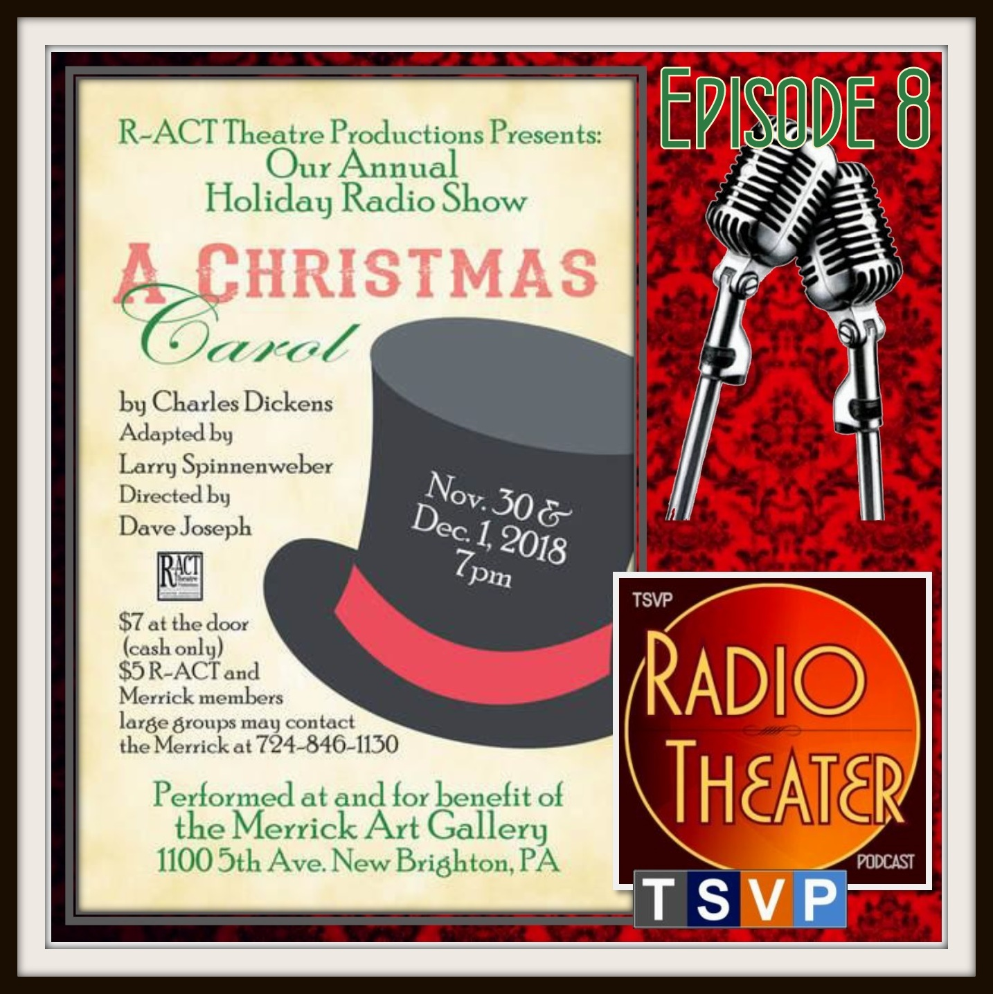 R-ACT Live!   2018 Annual Holiday Radio Show
