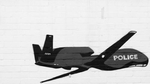 police-drone-graffiti