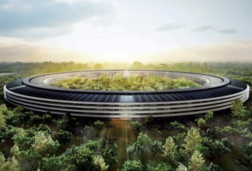 The Planned Headquarters of Apple Inc.