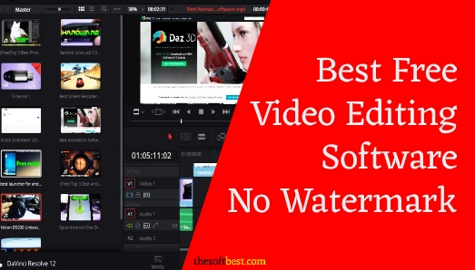Best Free Video Editing Software No Watermark
