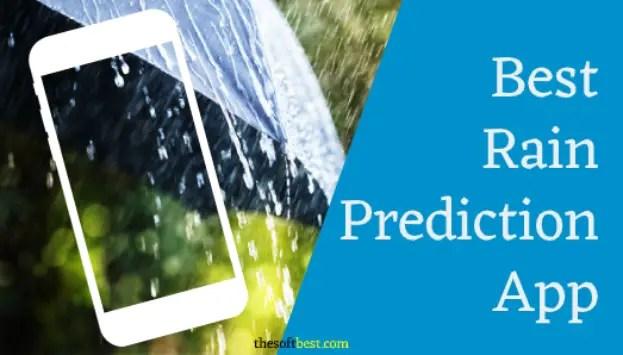 Best Rain Prediction App