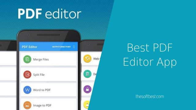 Best PDF Editor App