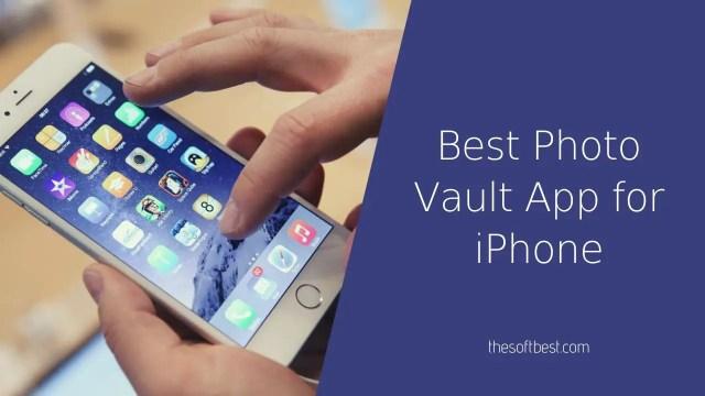 Best Photo Vault App for iPhone