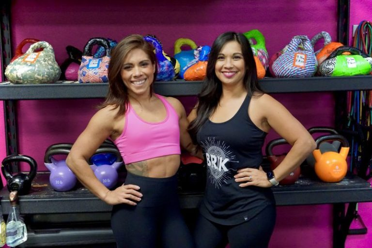 Kaia FIT Vacaville owners Atheena and Christina