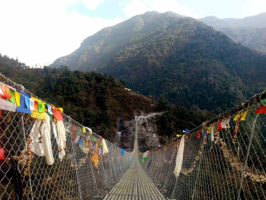 nepal bridges