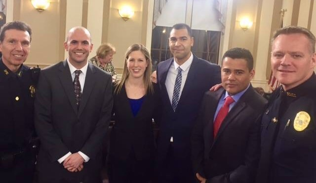 City Gets Four New Appointments to Somerville Police Reserve List