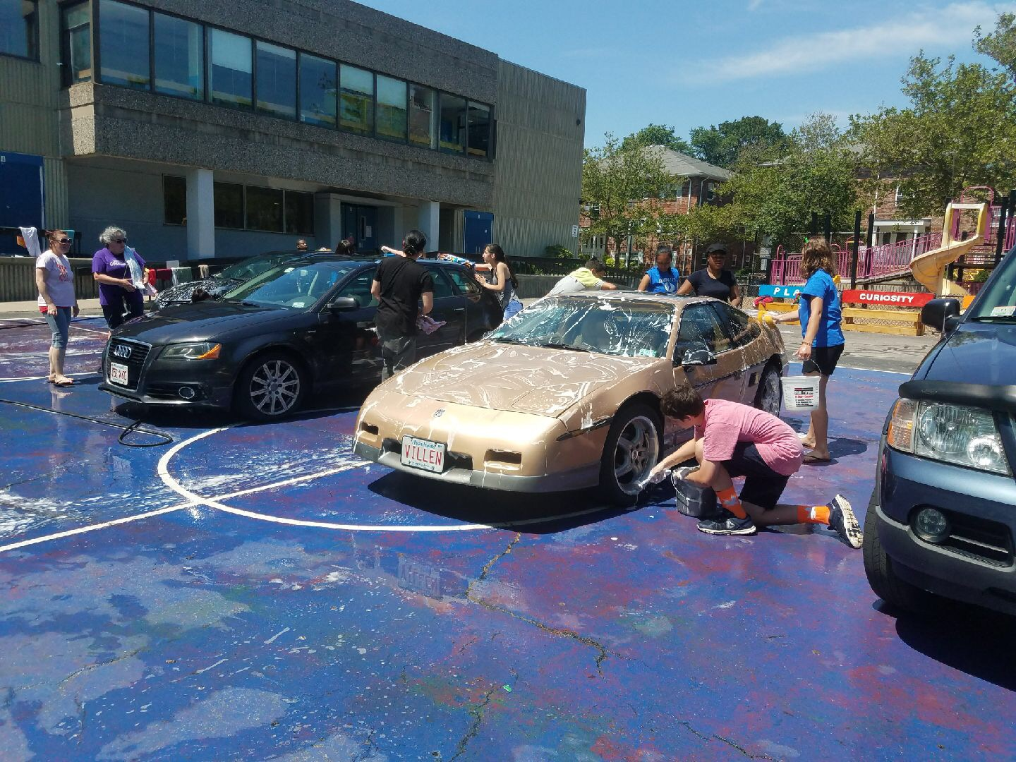 Winter Hill School Car Wash Moving Forward Fundraiser Event The