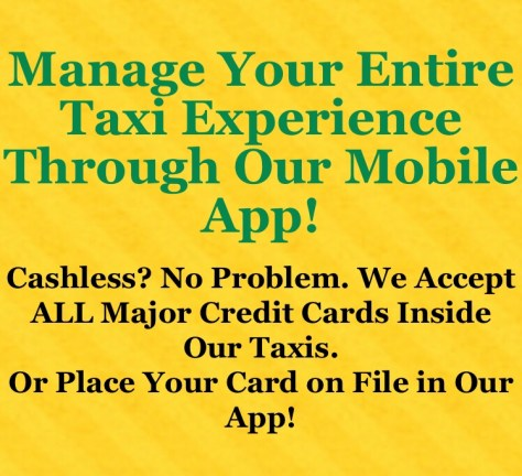 Green Cab and Yellow Cab of Somerville:GET THE APP TODAY