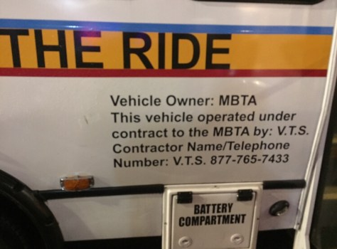 MBTA THE RIDE, A Humiliating Disaster In Somerville/Metro