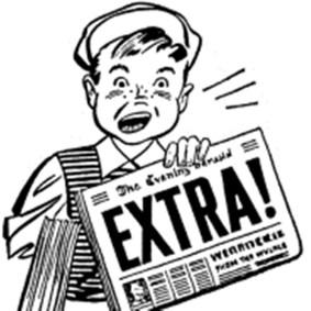 Extra news boy