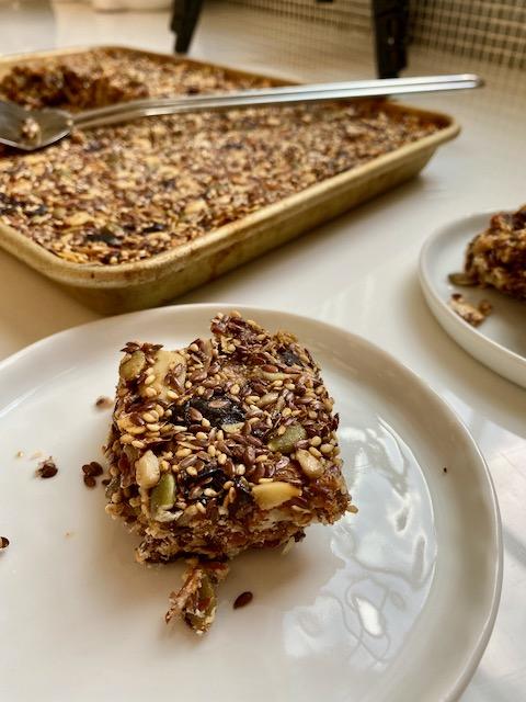 Healthy Seed & Nut Bars
