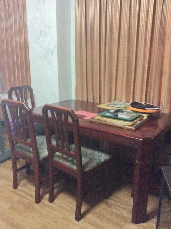Dining set - before