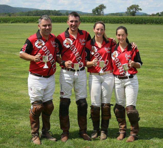 Cornell polo team members