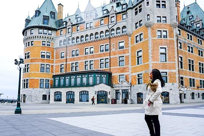 top 5 travel adventures of 2018, quebec city, quebec, fairmont hotel, fairmont le chateau frontenac