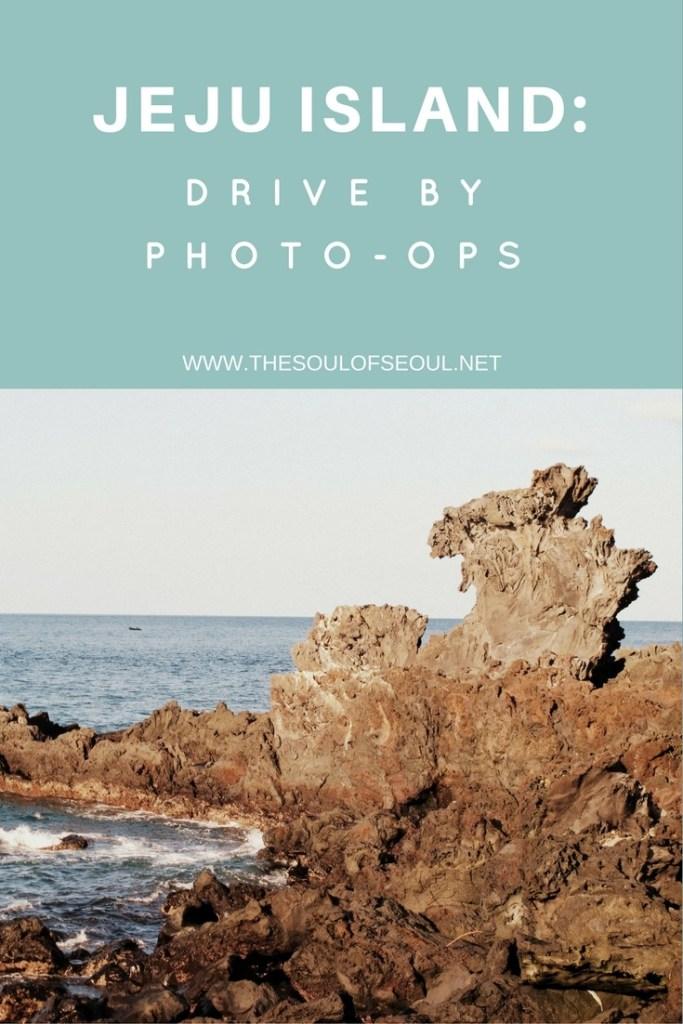 Jeju Island, Korea: drive by photo ops