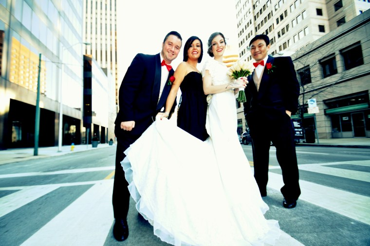 Dayton, Ohio: Hallie & Jae-oo American Wedding Ceremony