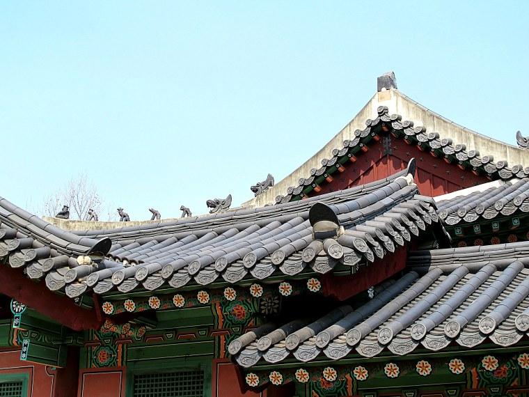 Gyeonghuigung Palace roof