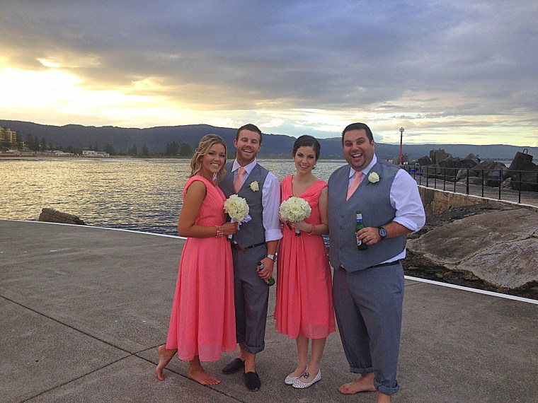Sydney, Australia: Britt's Australian Wedding Ceremony, Bridesmaids and Groomsmen
