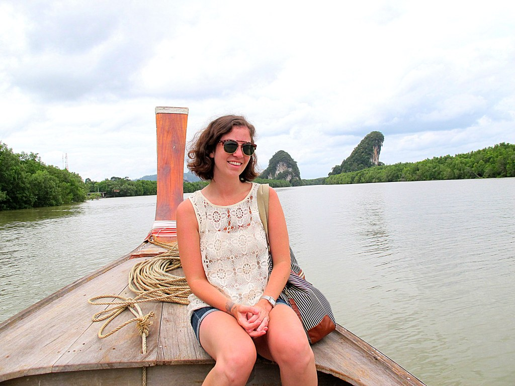 Me with Khao Khanam Nam in the background