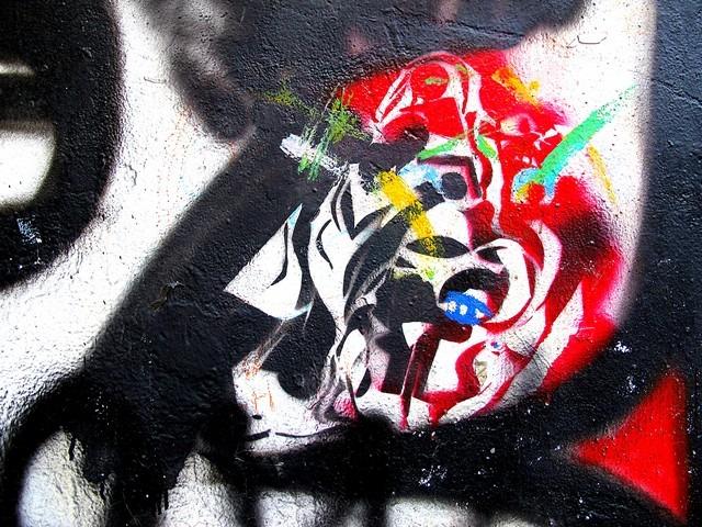 Street Art, Graffiti, Hongdae, Seoul, Korea